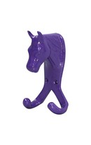 Horse Head Double Hook Purple