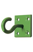Chain Hook On Plate 2pk Forest