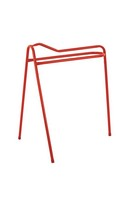 Portable Saddle Stand Red
