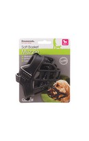 Soft Basket Muzzle Black Size2
