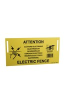 Fenceman Warning Sign