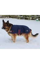 Buster Dog Coat Navy 50cm