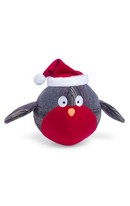 Christmas Tweed Robin Toy