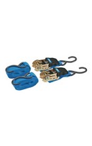 Ratchet Tie Down 4.5m 2pk