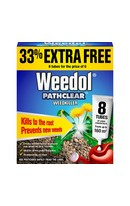 Pathclear Weedkiller 6+2 Tubes