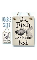 Fish Fed - Double Sign
