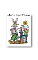 Rabbit Bucket - Card