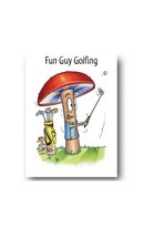 Fun Guy Golfing - Card
