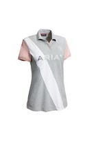 Tayrn Polo Shirt Gray/Rose XS