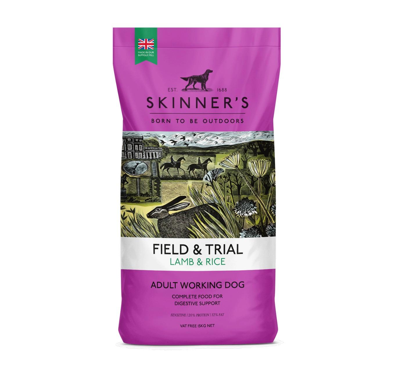 Skinners Lamb & Rice 15kg