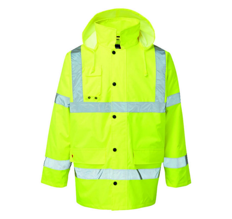 HI-VIS Waterproof Jacket 3XL