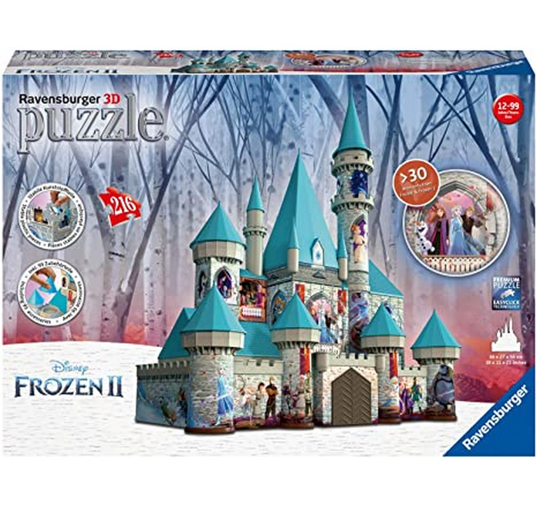 3D Frozen II Castle 216pc