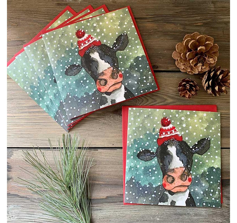 Christmas Cow 5pk