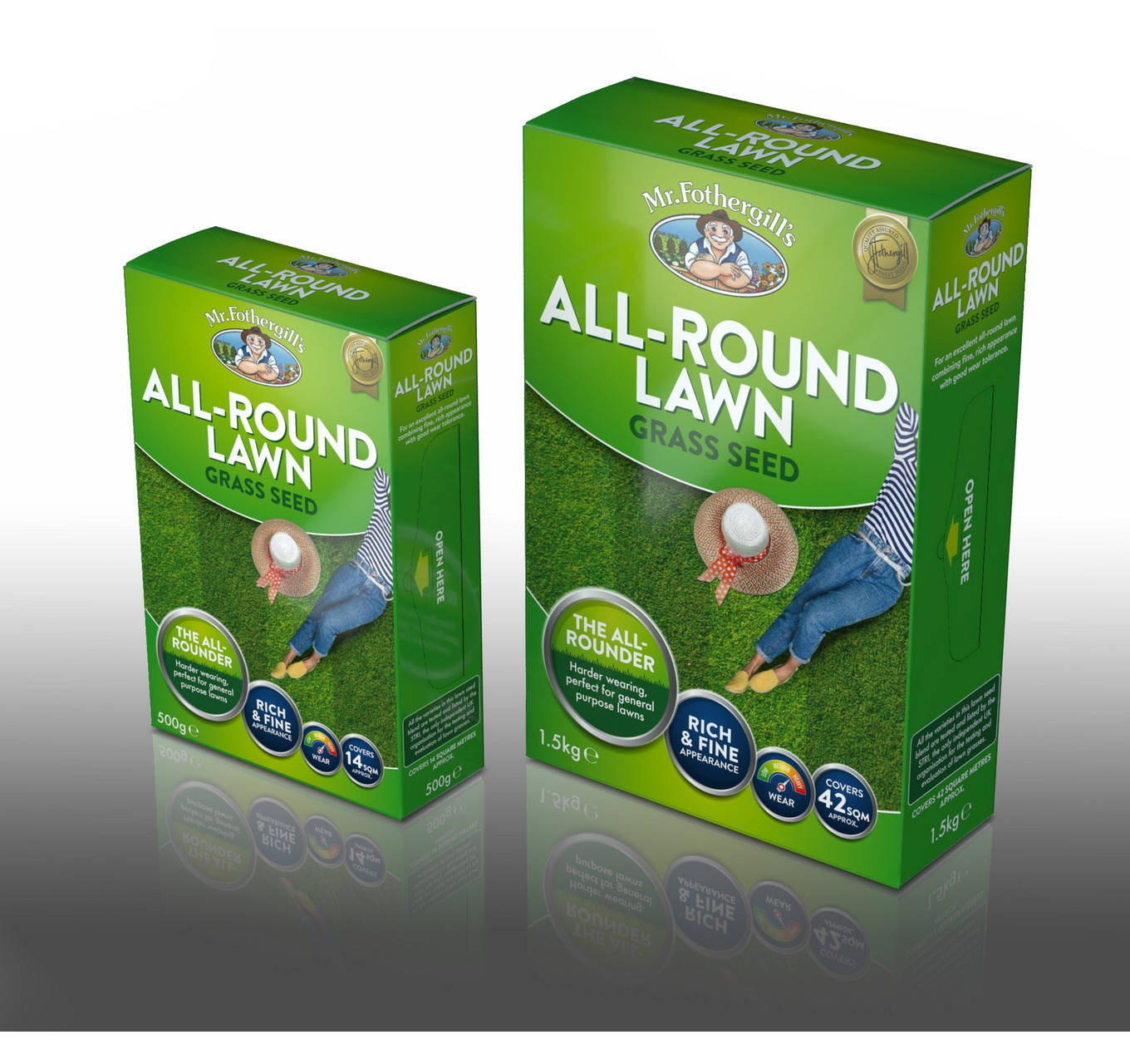 All-Round Lawn Seed 500g