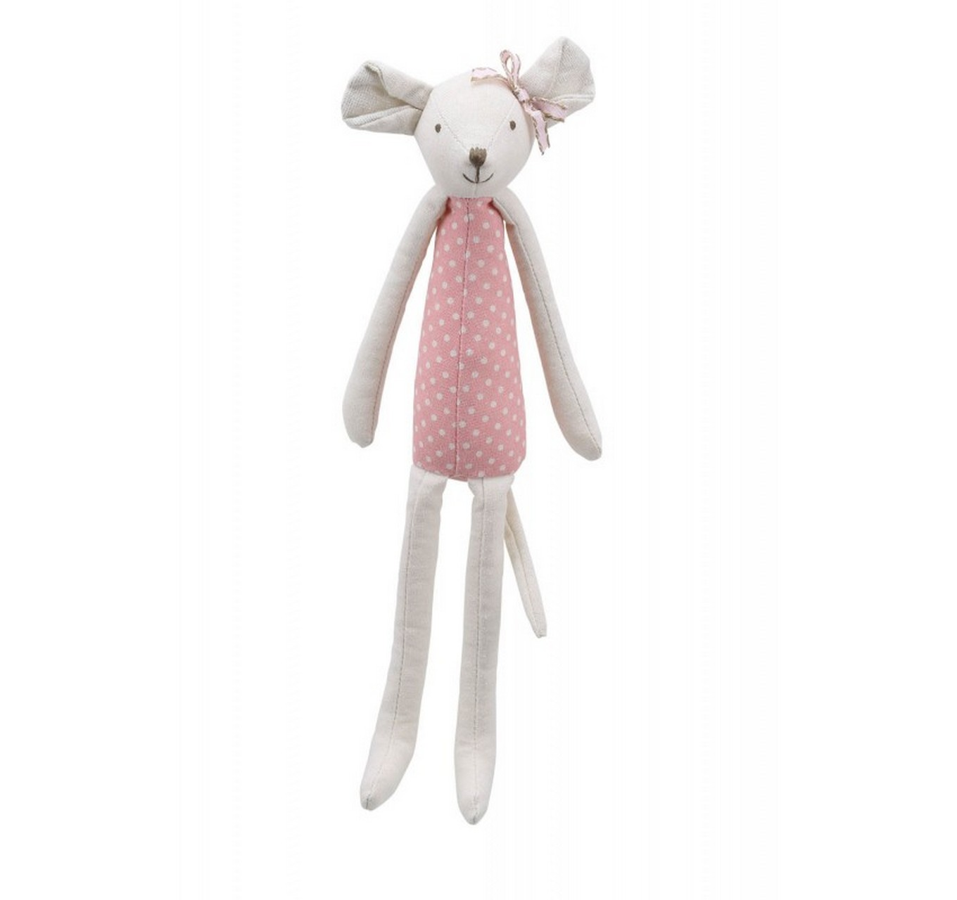 Linen Pink Mouse 340mm