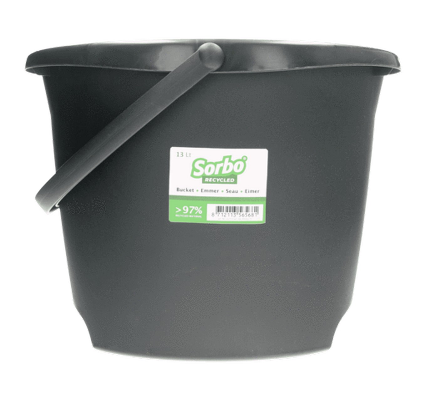 Recycled Oval Bucket 13L
