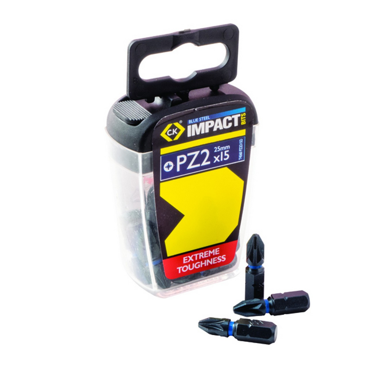 PZ2 Screwdriver Bits 50mm 10pc