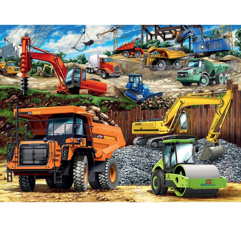 Construction Vehicle XXL 100pc