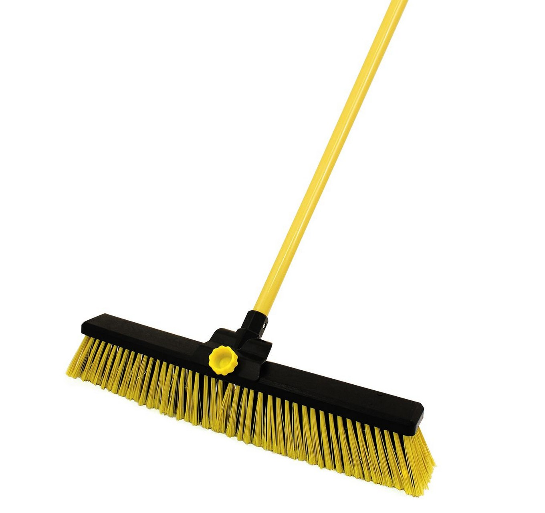 Bulldozer Yard Broom 24