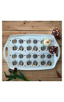 Bee Melamine Tray (L)