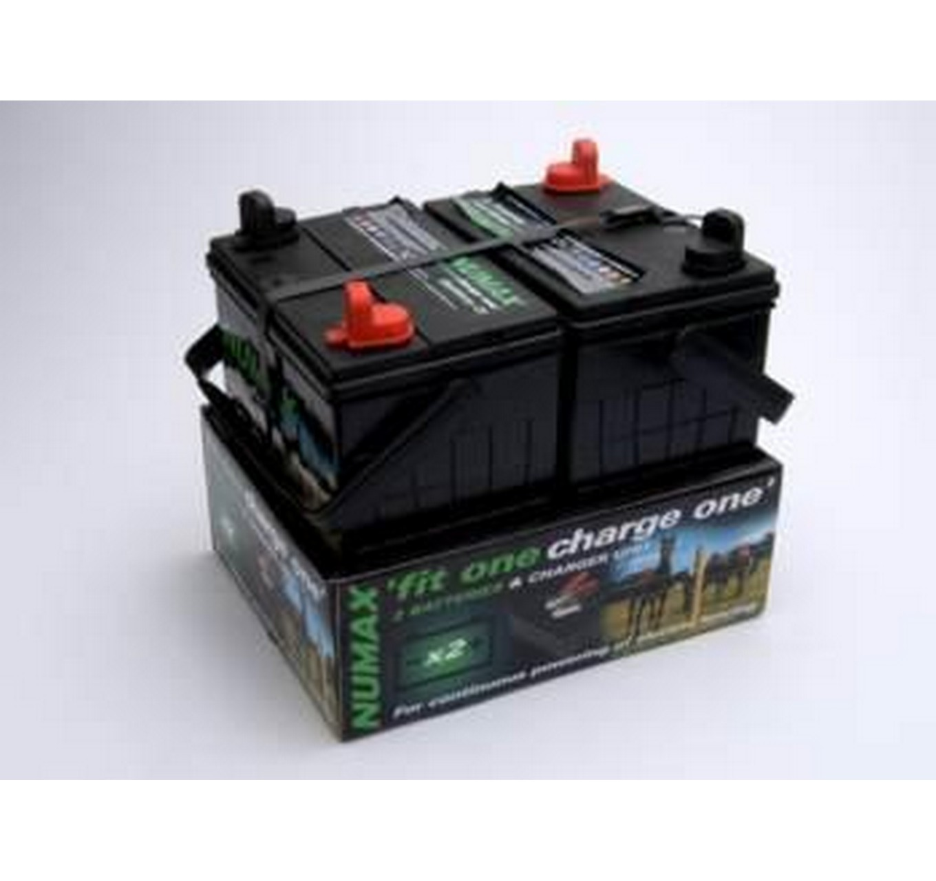 12v Battery Twin Pack 35ah