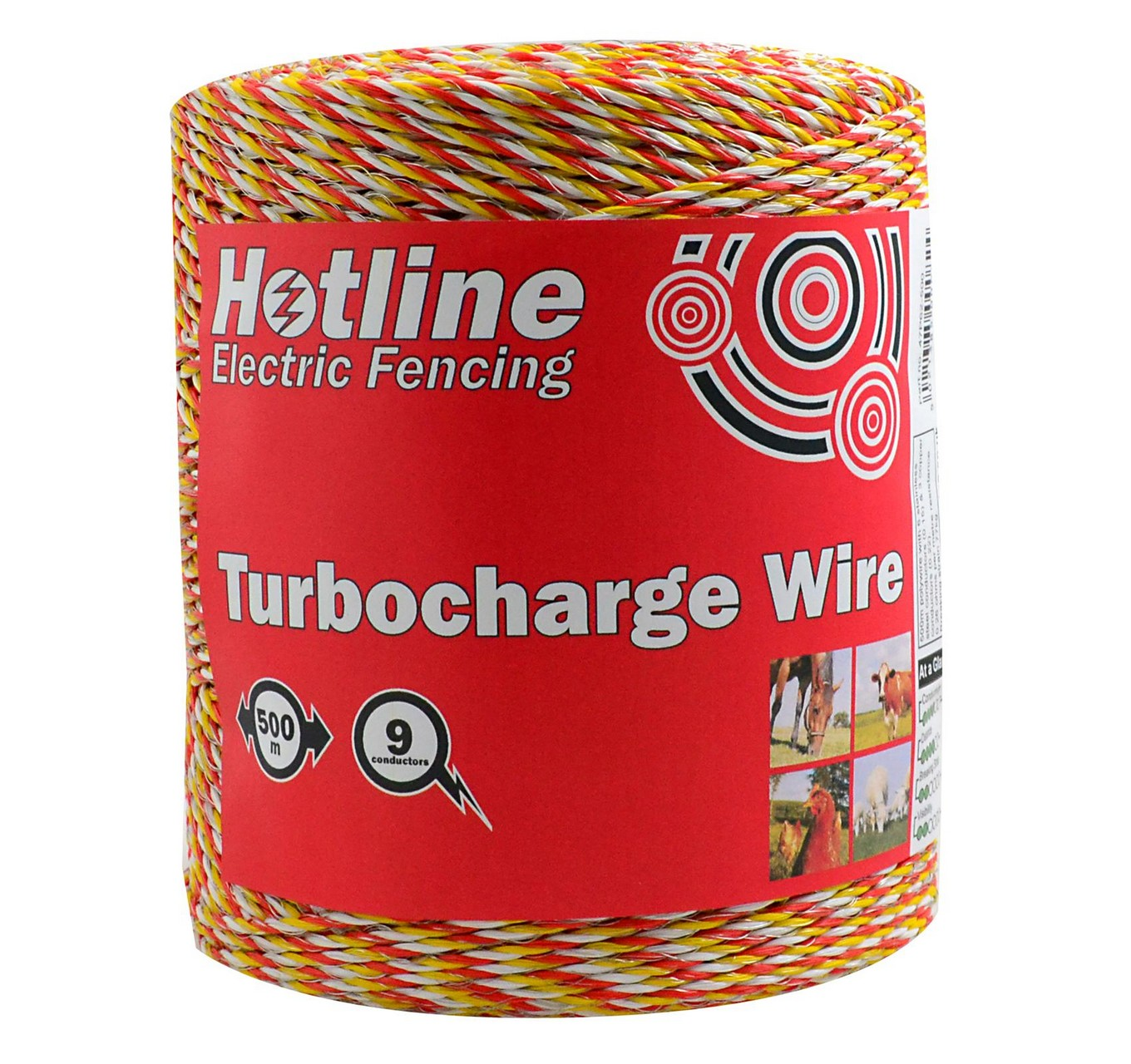 Supercharge Wire 9 Strand 500m