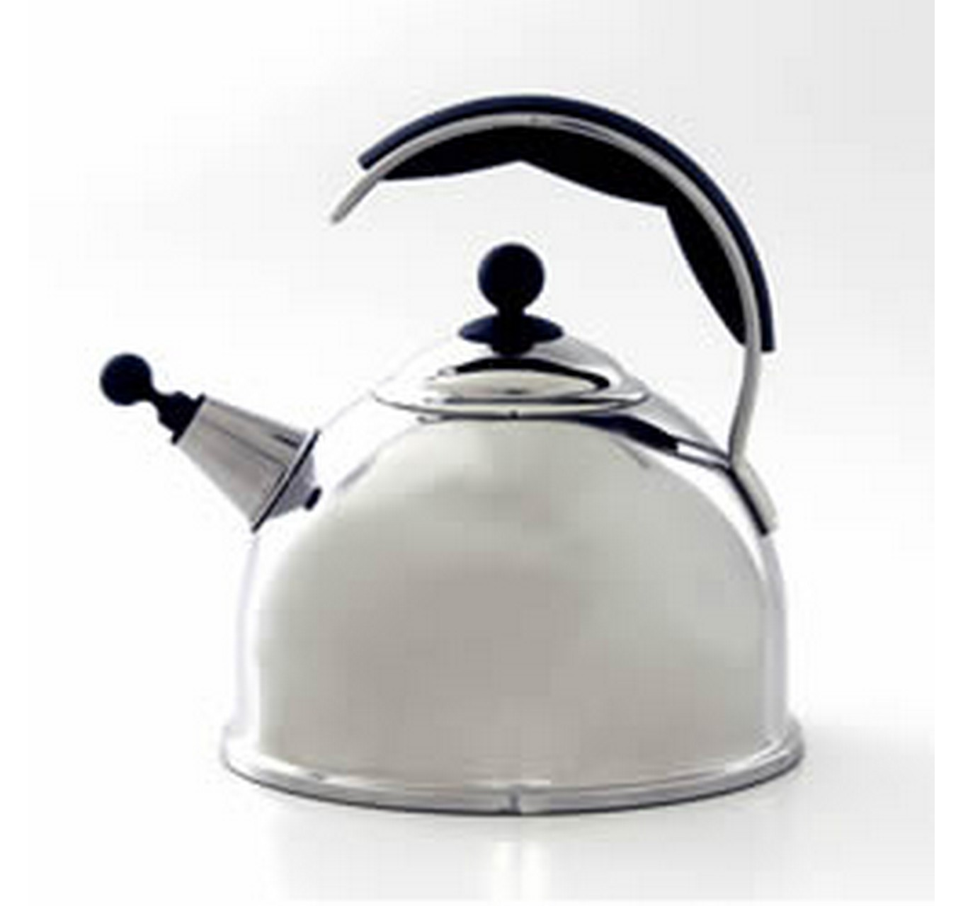 Polished Whistling Kettle 2.2L