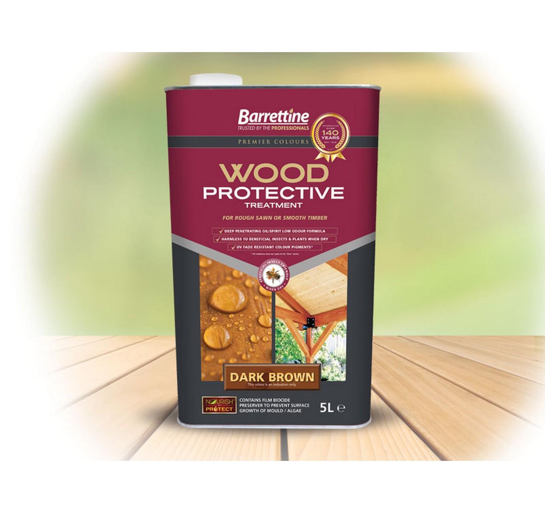 Wood Protector Dark Brown 5L