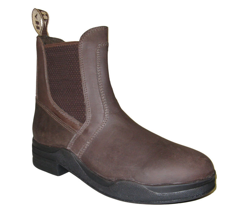 Leather Jodhpur Boot Brown 6