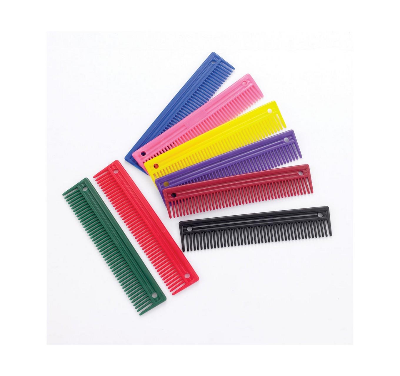Red Plastic Comb 9