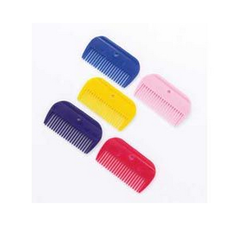 Plastic Mane Comb - Pink