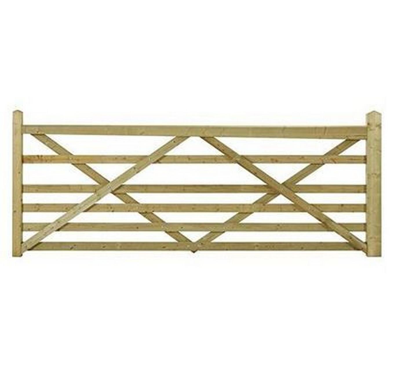 Wooden Somerfield Gate 13ft