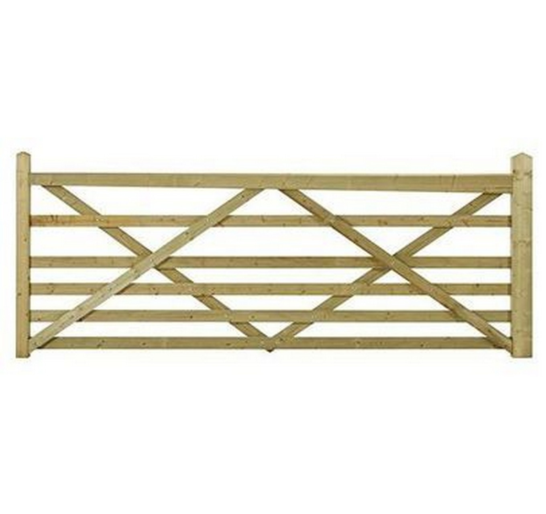 Wooden Somerfield Gate 10ft