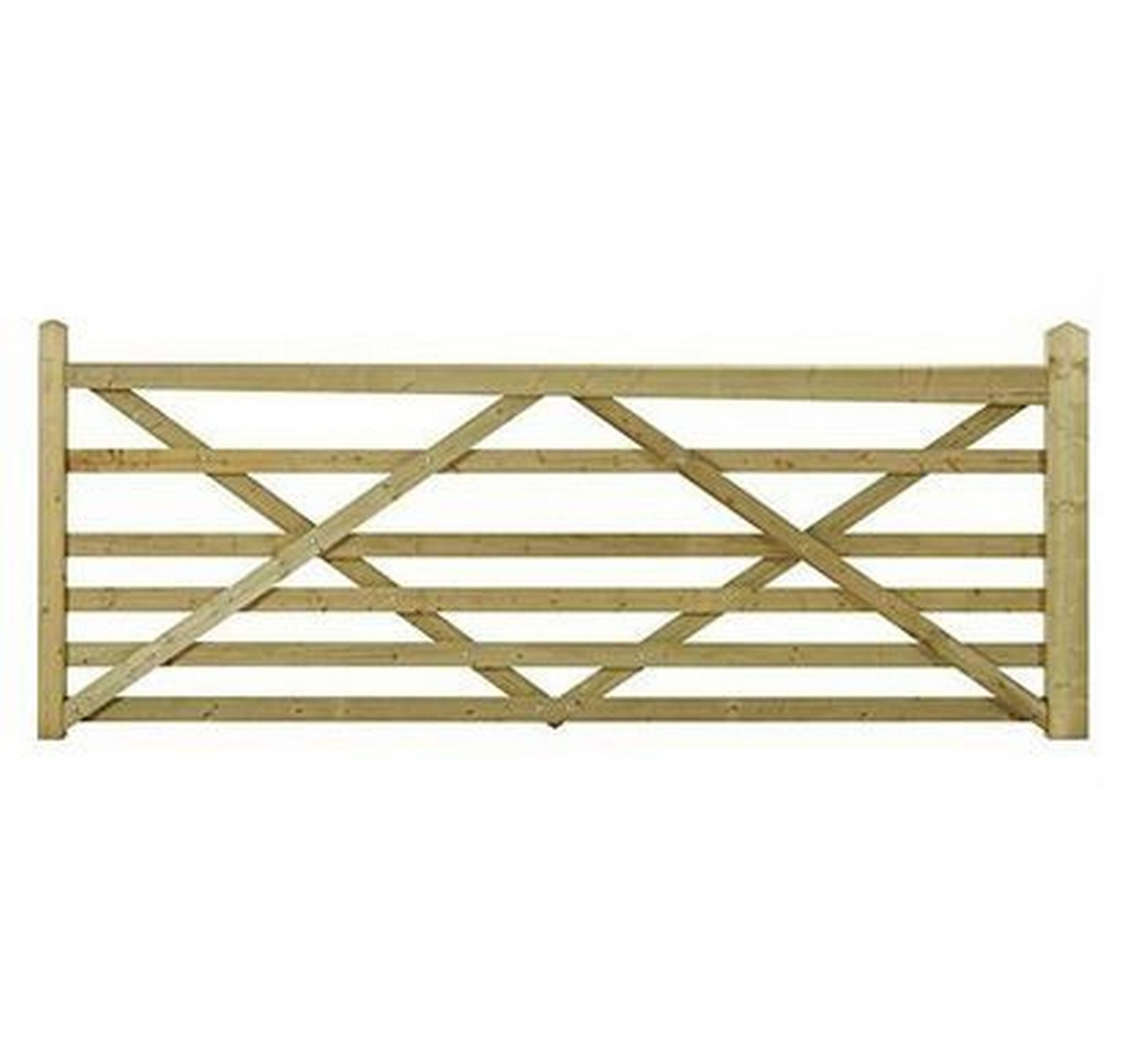 Wooden Somerfield Gate 12ft