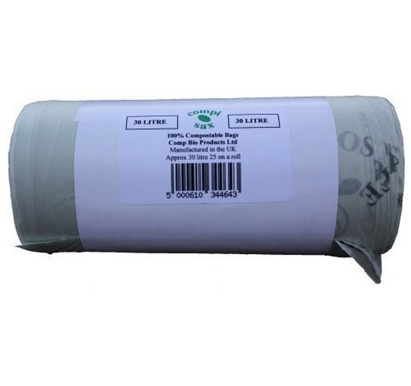 30ltr Compostable Bin Liners