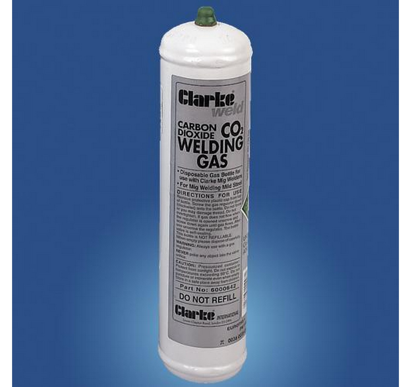 CO2 Gas Cylinder 390g
