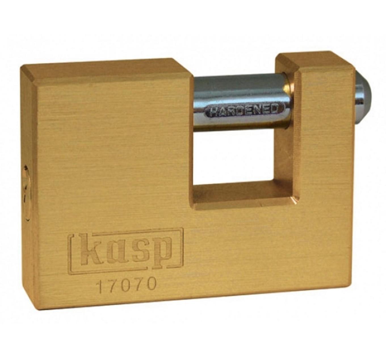 Brass Shutter Padlock 63mm