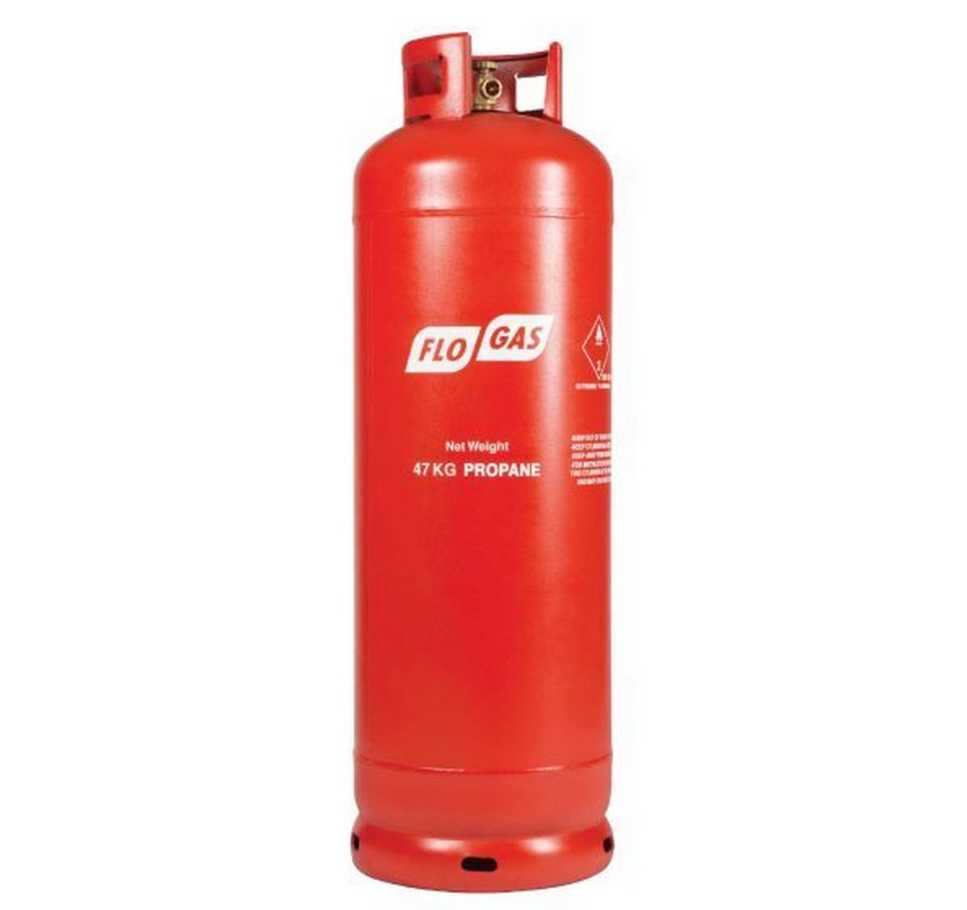Gas Propane 47kg Red