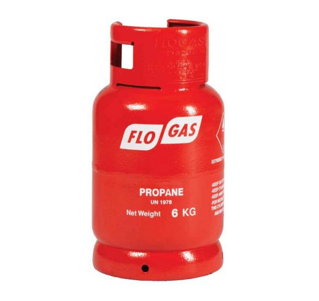 Gas Propane 6kg Red