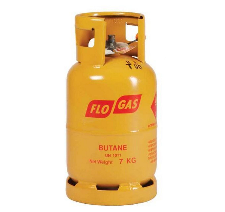 Gas Butane 7kg Gold 21mm
