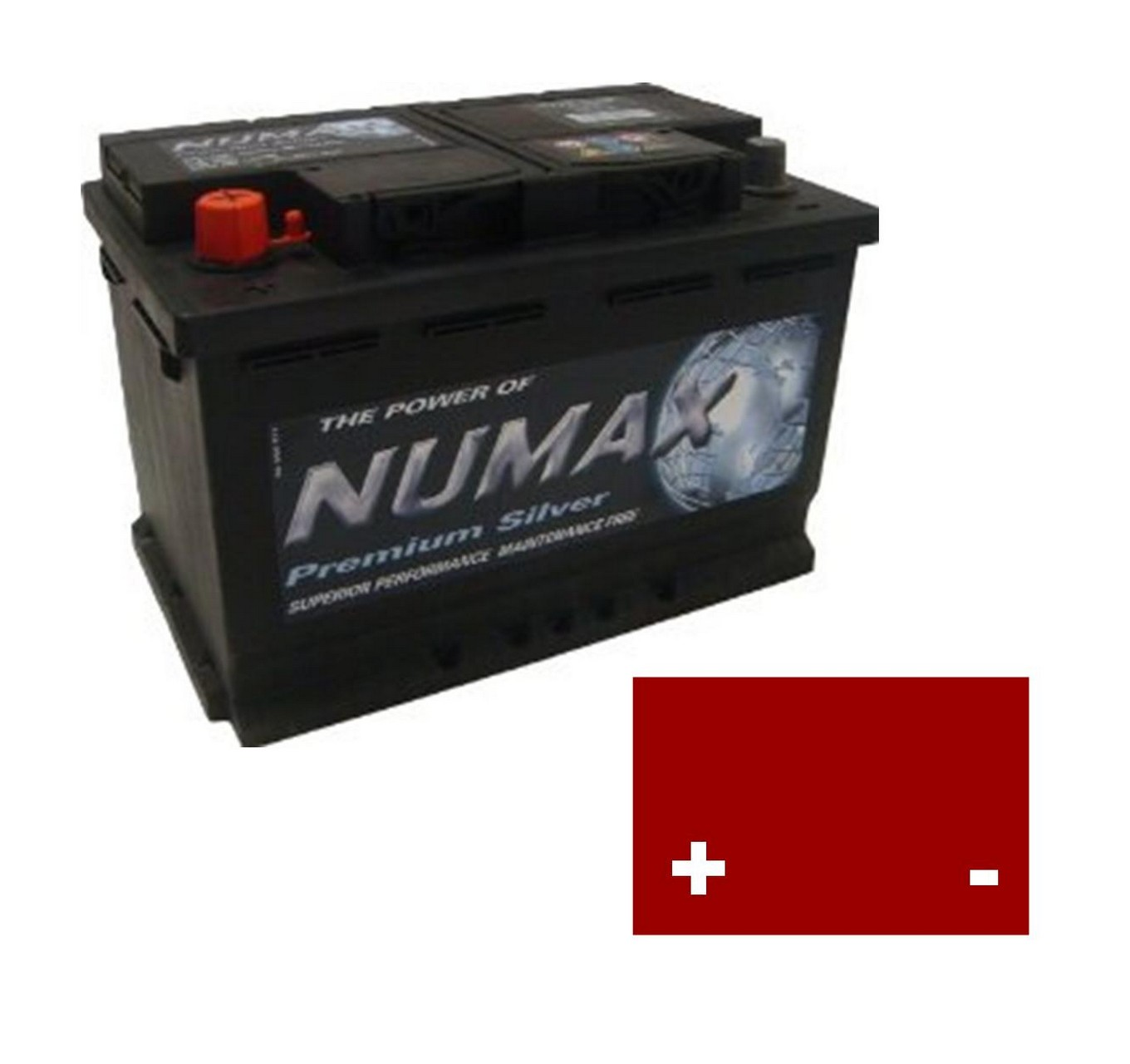 12v 644 Type Battery 94AH