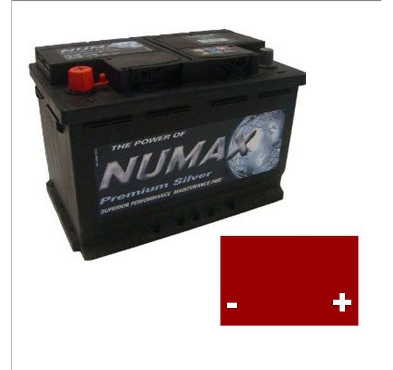 12x 663 Type Battery 110AH