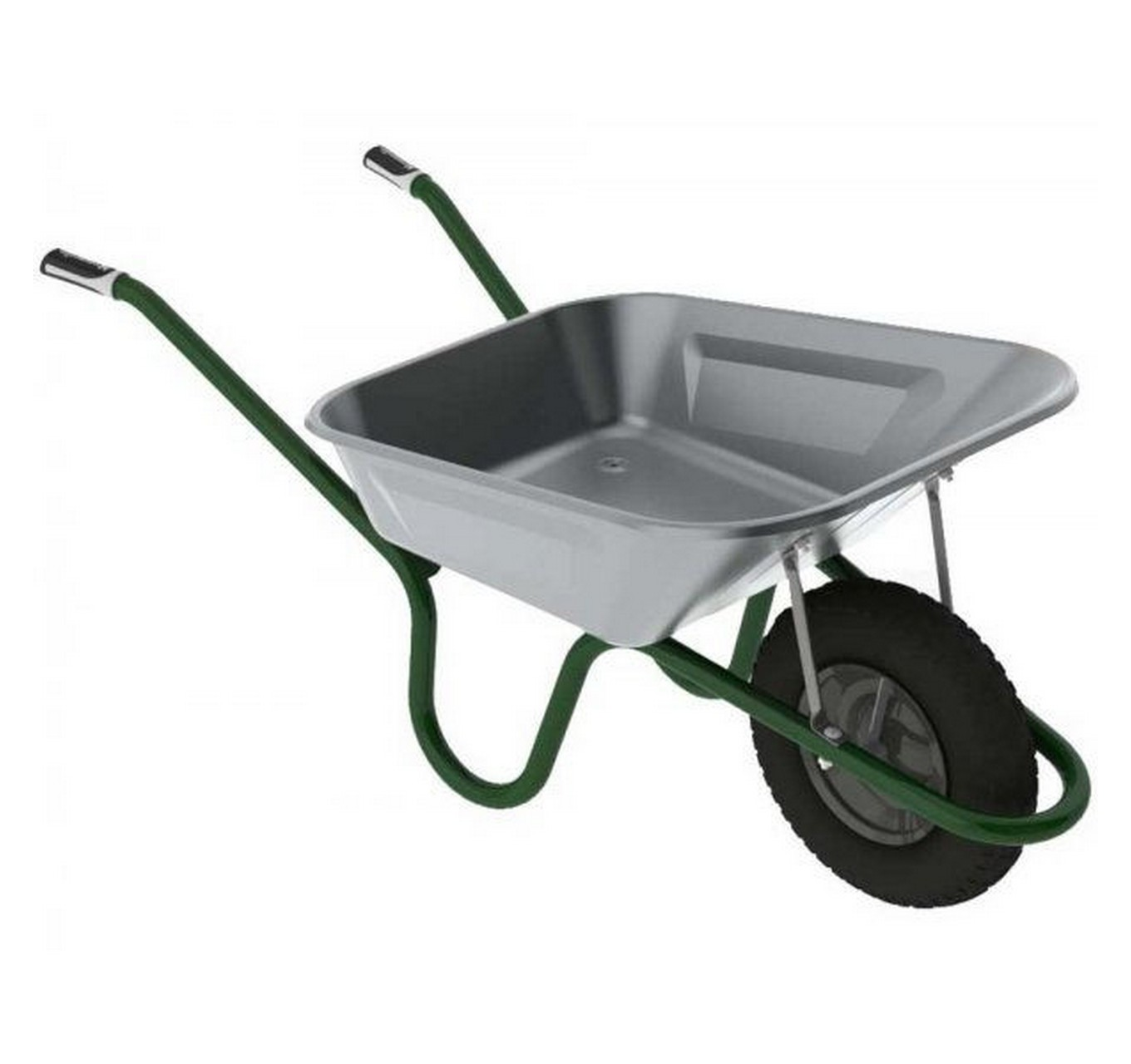 90ltr Galvanised Wheelbarrow