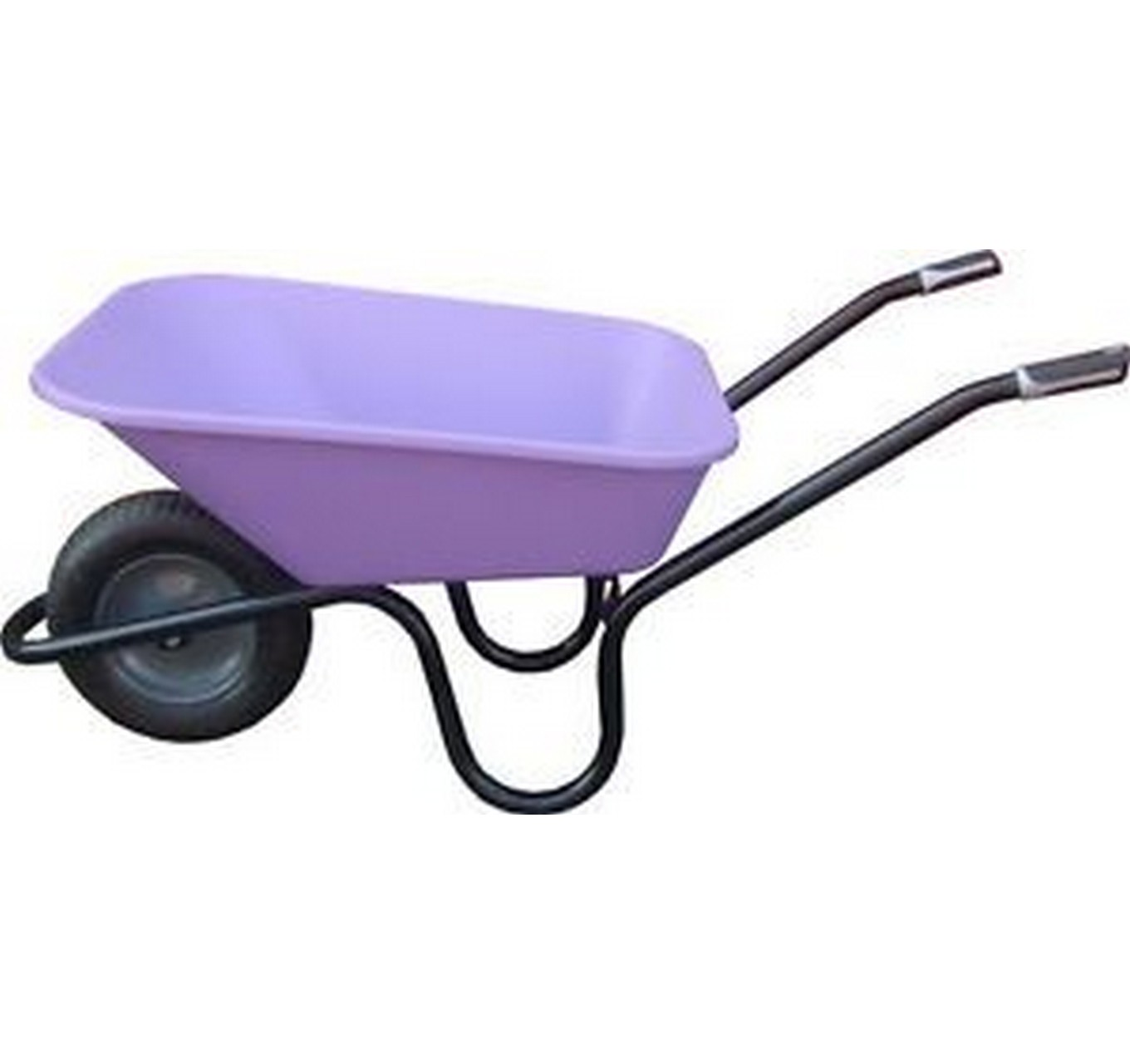 90ltr Lilac Poly Wheelbarrow