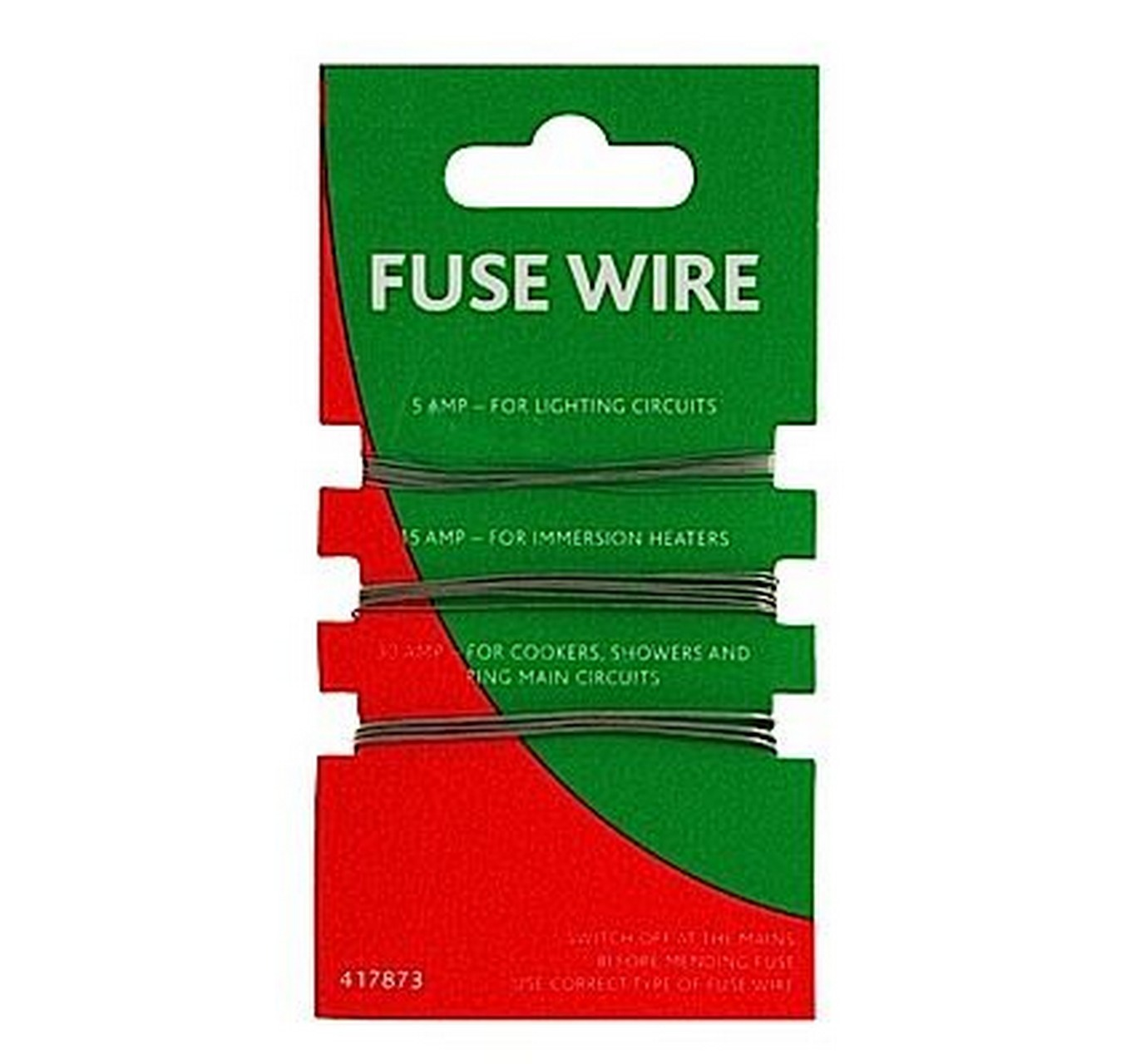 Fuse Wire 5, 15 & 30amp