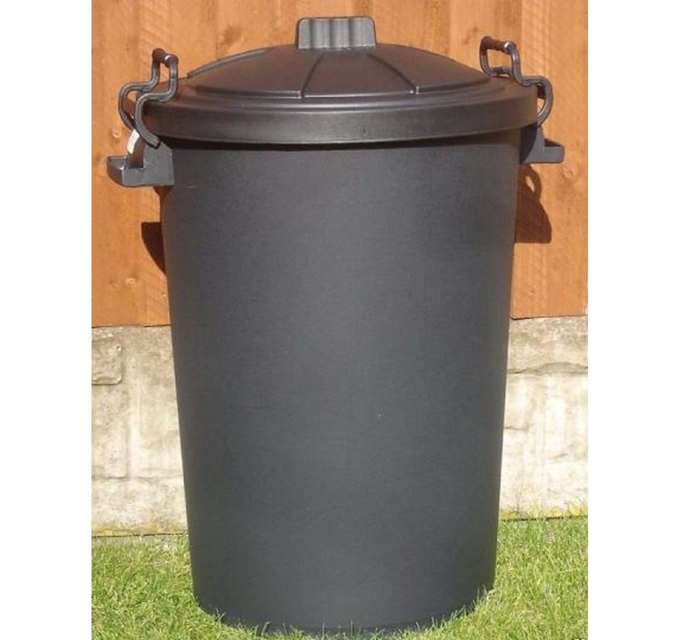 Dustbin With Clip Lid 85ltr