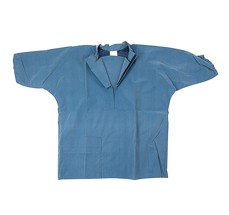 Parlour Top S/Sleeve Blue XL
