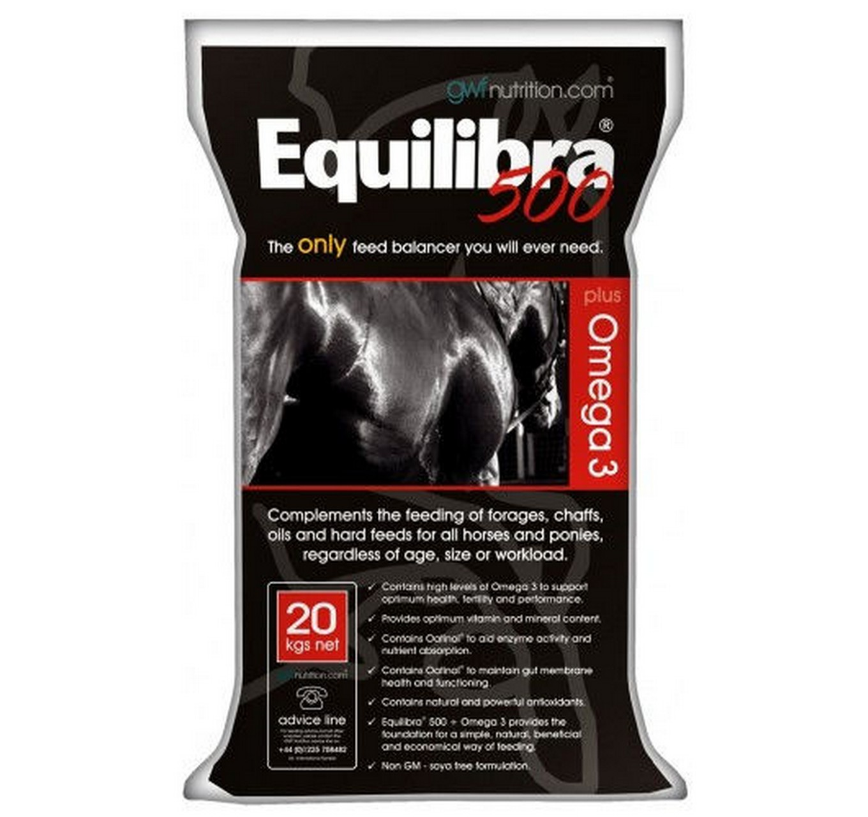 Equilibra 500 + Omega 3 20kg
