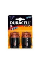 Duracell Plus D Cell 2pk
