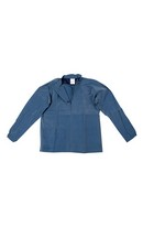 Parlour Top L/Sleeve Blue XXL